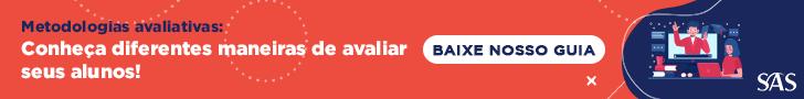 Banner com link para baixar guia de metodologias avaliativas SAS.