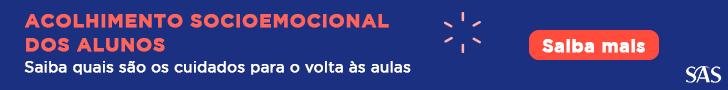 Banner com o link para baixar o infográfico sobre acolhimento socioemocional dos alunos.